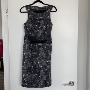 Jacob Dress with Built in Belt